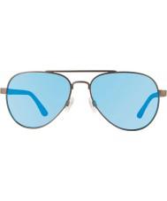 Revo Re1011 gunmetal raconteur - água azul óculos polarizados
