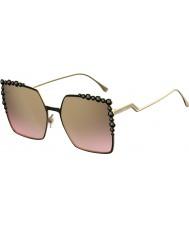 Fendi Ladies ff 0259-s 2o5 53 óculos de sol