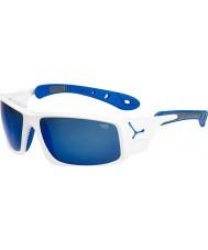 Cebe Ice 8000 brilhantes óculos de sol azuis brancos