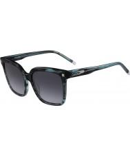 Calvin Klein Collection Senhoras ck4323s listrado óculos de sol verdes