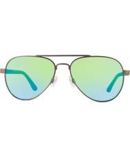 Revo Re1011 gunmetal raconteur - água polarizada óculos de sol verdes