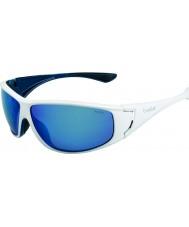 Bolle Highwood brilhantes brancos azuis polarizadas óculos de sol azuis no mar