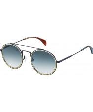 Tommy Hilfiger Th 1455-S BQZ 08 fosco óculos de sol azuis