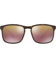 RayBan Rb4264 58 tecnologia chromance fosco havana 894-6b óculos de sol marrom espelho polarizados