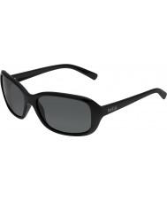 Bolle Molly preto brilhante polarizada TNS óculos de sol