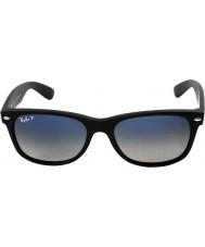 RayBan Rb2132 55 novos wayfarer preto fosco 601s78 óculos polarizados