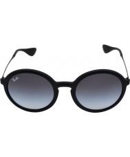 RayBan Rb4222 50 youngster óculos de borracha preta 622-8g