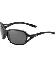 Bolle Solden brilhantes pretas polarizada TNS óculos de sol
