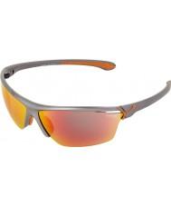 Cebe Cinetik óculos de sol cinza grande metálicos