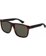 Gucci Mens gg0010s 006 óculos de sol