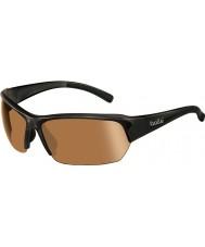 Bolle Ransom óculos de sol de golfe brilhante modulador preto v3