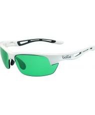 Bolle óculos de sol tênis arma competivision branco brilhante parafuso s