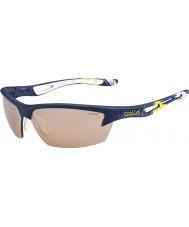 Bolle Parafuso do copo de Ryder azul modulador amarela óculos de sol de golfe v3