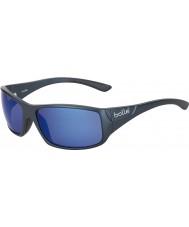Bolle Kingsnake matt azuis polarizadas óculos de sol azuis no mar
