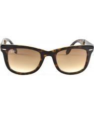 RayBan Rb4105 50 dobrar luz wayfarer concha de tartaruga 710-51 óculos de sol