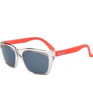 Bolle 527 retro coleção de laranja de cristal brilhante gb-10 óculos de sol