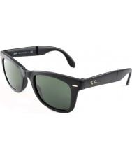 RayBan Rb4105 50 dobráveis wayfarer fosco 601S preto óculos de sol