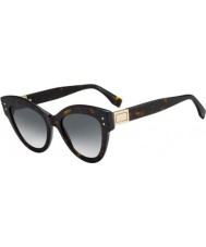 Fendi Ladies ff0266 s 86 9o 52 óculos de sol peekaboo
