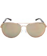 Michael Kors Mk1003 58 fiji ouro rosa 1003r5 óculos de sol