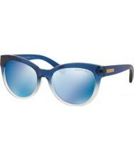 Michael Kors Mk6035 53 mitzi i azul sombreada 312255 azuis óculos de sol espelho