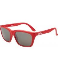 Bolle 527 retro coleção camo vermelho brilhante dos óculos de sol tns arma