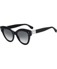 Fendi Ladies ff0266 s 807 9o 52 óculos de sol peekaboo
