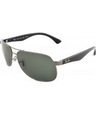 RayBan Rb3502 61 highstreet gunmetal 004-58 óculos polarizados