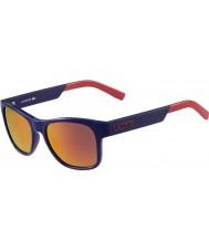 Lacoste óculos de sol azuis L829s