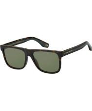 Marc Jacobs Mens marc 275 s 086 qt 55 óculos de sol