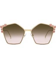 Fendi Ladies ff0261 s 0 53 57 óculos de olho para olhos