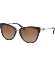 Michael Kors Mk6039 56 abela ii escuro tartaruga lavanda 314513 óculos de sol