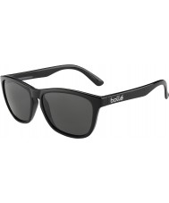 Bolle 437 retro coleção preto brilhante polarizados TNS óculos de sol