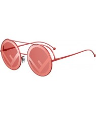 Fendi Ladies ff0285 s c9a 0l 63 foge óculos de sol