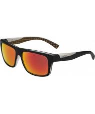 Bolle Clint mate laranja óculos de sol pretos tns polarizada fogo