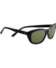 Serengeti Bagheria preto tartaruga cinza óculos polarizados 555nm