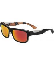 Bolle Jude mate laranja óculos de sol pretos tns polarizada fogo