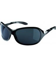 Bolle Graça óculos de sol brilhante TNS preto