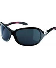 Bolle Graça brilhante coral preto óculos polarizados TNS