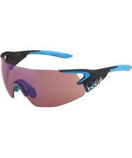 Bolle óculos de sol 5º elemento azul pro matt de carbono rosa-azuis
