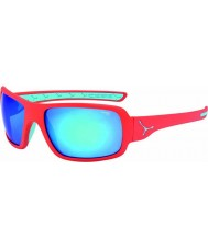 Cebe Changpa mate rosa 1500 cinzenta do flash do espelho azul óculos de sol