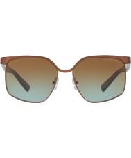 Michael Kors Mk1018 56 agosto de bronze 11475d óculos de sol