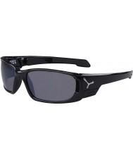 Cebe S-Cape pequenos óculos de sol pretos