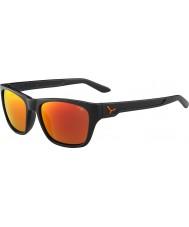 Cebe Hacker cinza mate 1500 de flash cinza óculos de sol laranja espelho