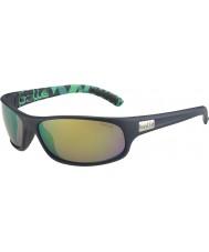 Bolle Anaconda mate verde azul óculos polarizados esmeralda marrom