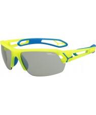 Cebe Cbstmpro s-track m óculos de sol amarelo