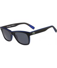 Lacoste L781sp preto óculos polarizados azuis