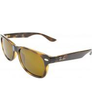 RayBan Junior Rj9052s 47 nova wayfarer brilhantes havana 152-3 óculos de sol