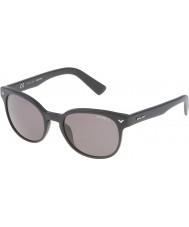 Police Mens mestre 4 spl143-703p mate óculos polarizados preto
