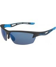 Bolle óculos de sol parafuso preto mate rosa-azuis