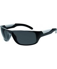 Bolle Vibe brilhantes pretas polarizada TNS óculos de sol